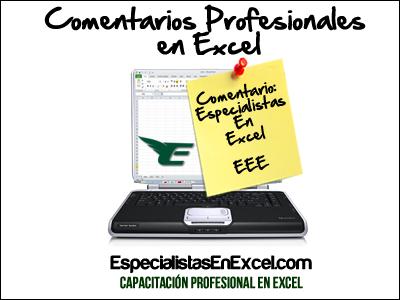 Ingresa comentarios en Excel de forma profesional con validación de datos
