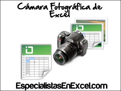 Cámara fotográfica en Excel