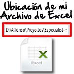Ruta de mi archivo de Excel