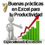 7 buenas practicas en Excel
