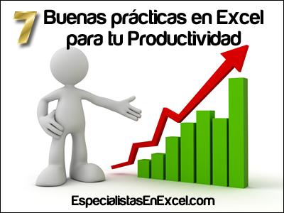 Buenas prácticas en excel