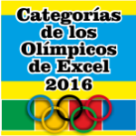 Categorías olímpicos de Excel