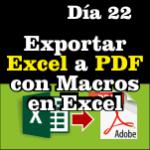 Exportar Excel a PDF con macros de Excel