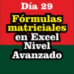 Fórmulas matriciales en Excel con condiciones