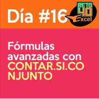 dia16 Fórmulas avanzadas con CONTAR.SI.CONJUNTO