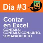 dia3 reto40excel capacitación en Excel contar si conjunto