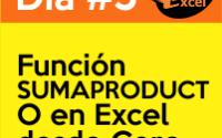 dia4 reto40excel capacitación en Excel función SUMAPRODUCTO
