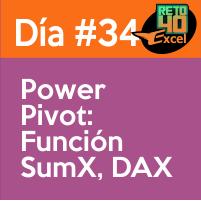 dia 34 reto40excel Power-Pivot-Funcion-SumX-DAX