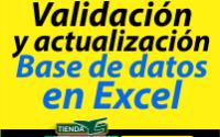 Validación y actualización Base de datos en Excel