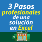 miniaturas 3 Pasos para desarrollar una solución profesional de Excel